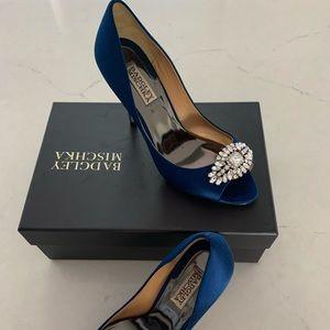 Badgley Mischka Lavender II heels